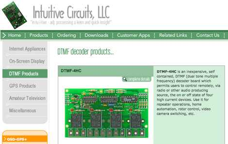 Intuitive Circuits LLC - DTMF Kits