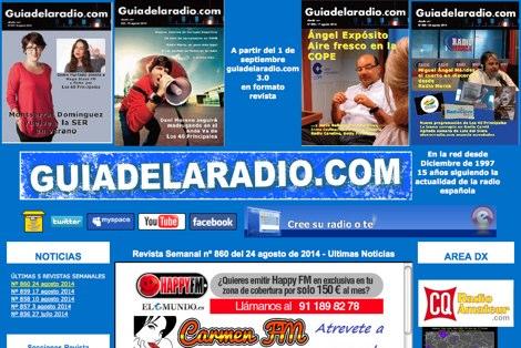 DXZone Guia de la radio