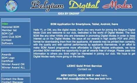Belgium Digital Mode Club