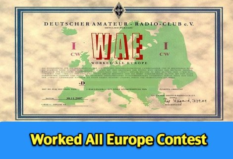 WAE DX Contest - Rules