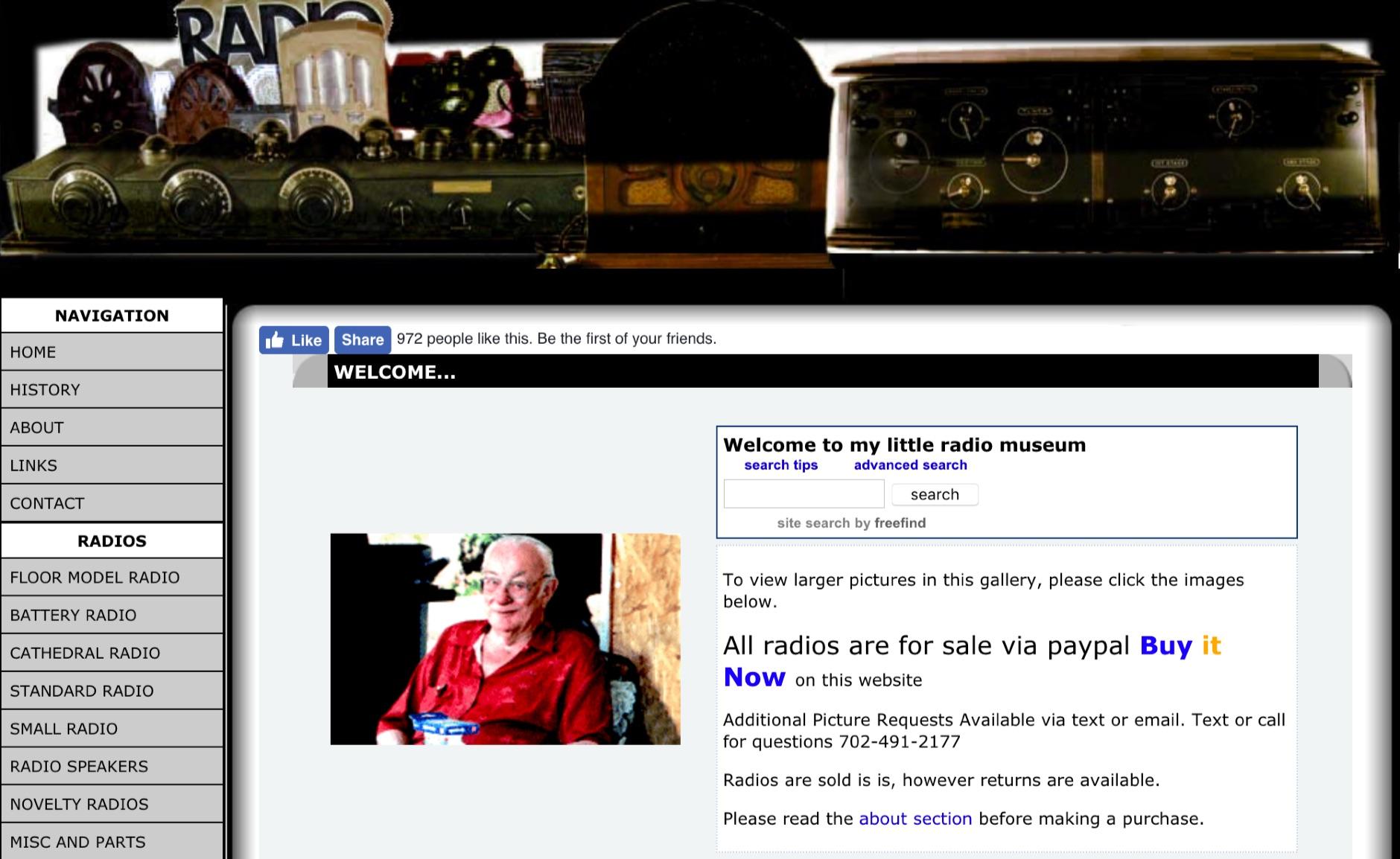 AntiqueTubeRadio.com Discover over 1200 antique radios