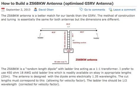 ZS6BKW Antenna