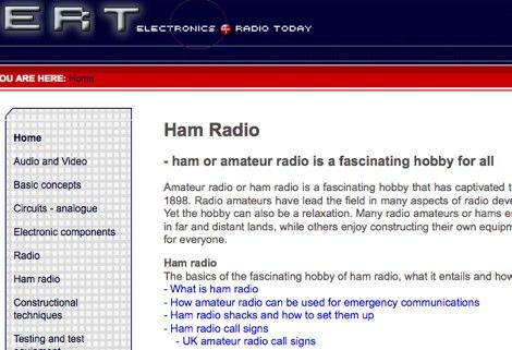 Electronics and Radio Today : Ham Radio