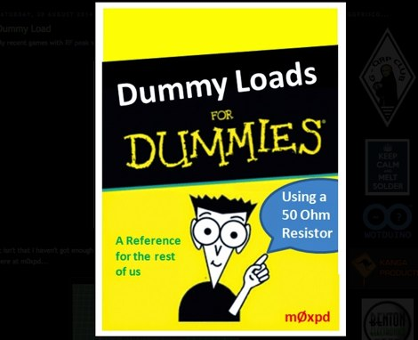 Dummy Load for Dummies