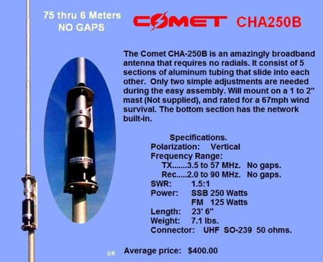 Comet CHA250B Review