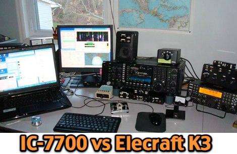IC7700 vs Elecraft K3