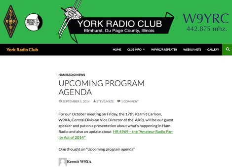 DXZone York Radio Club