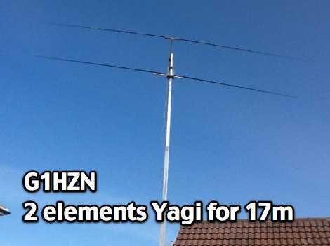 2 element Yagi for 17 meters