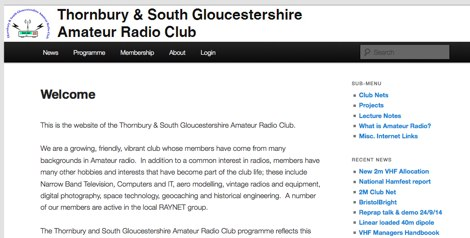 DXZone Thornbury & South Gloucestershire Amateur Radio Club