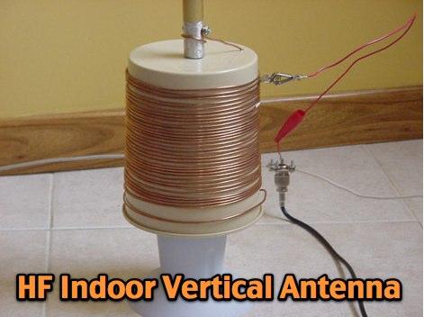 DXZone W5ALT Indoor Vertical Antenna