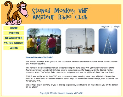 Stoned Monkey VHF ARC