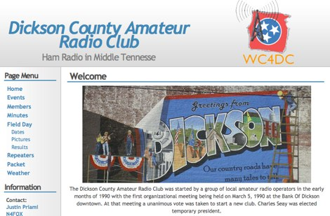 Dickson County Amateur Radio Club