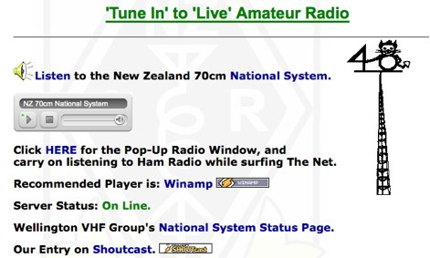 NZ 70cm National System live radio