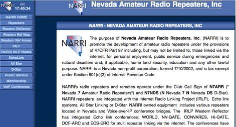 DXZone Nevada Amateur Radio Repeaters, Inc