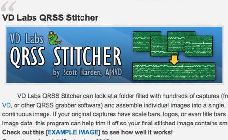 DXZone QRSS Stitcher