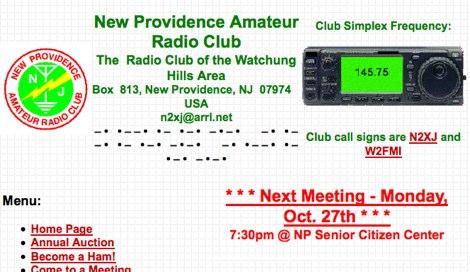 New Providence Amateur Radio Club