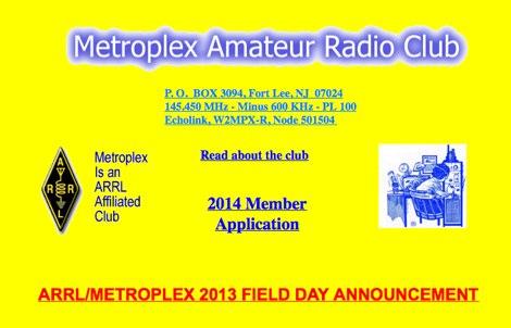 Metroplex Amateur Radio Club