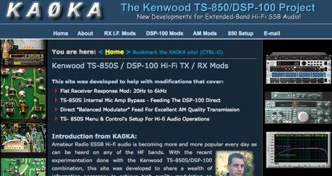 DXZone Kenwood TS-850S - ESSB