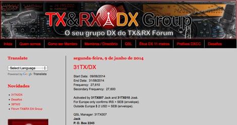 DXZone TX&RX DX Group