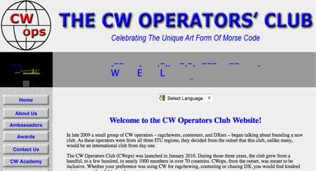 DXZone CW Operators Club