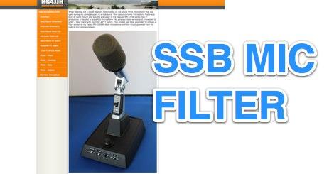 SSB Microphone Filter