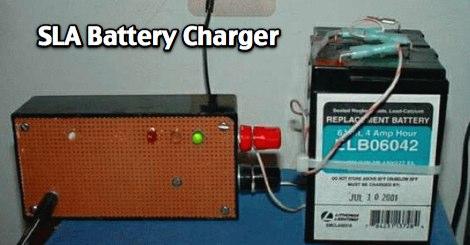 SLA Battery Charger