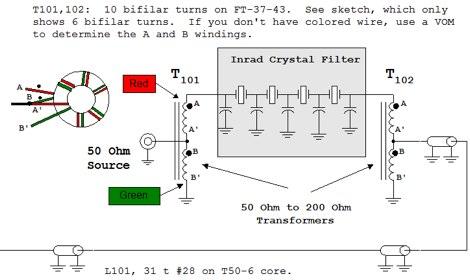 DXZone Using Inrad Xtal filter