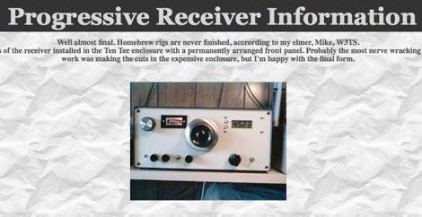 DXZone Progressive Receiver Information by AA3SJ