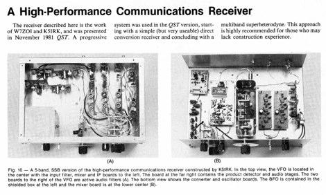 DXZone High Performance Communication Receiver