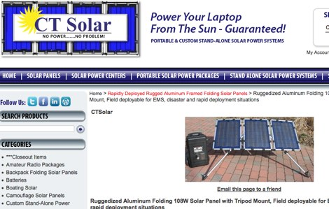 Solar Power for Amateur Radio
