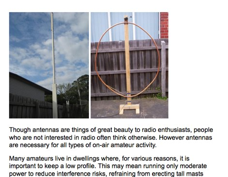 Antennas for confined spaces