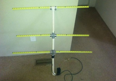 Tape Measure VHF antenna