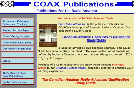 Coax Publications Inc