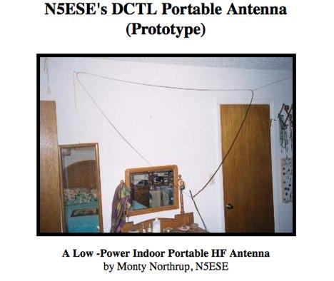 DXZone DCTL Portable Antenna