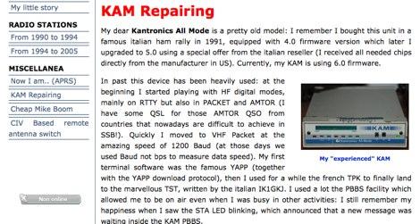 KAM Repairing