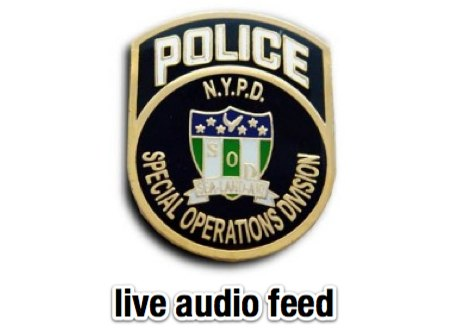 DXZone NYPD Special Operations Division Live Radio