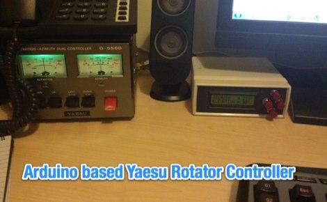 Arduino based Yaesu Rotator Controller