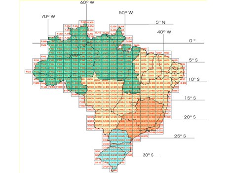 DXZone Brasil Locator Map