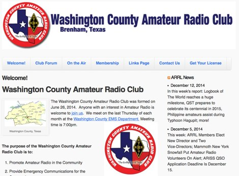 Washington County Amateur Radio Club