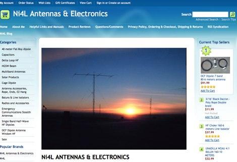 DXZone NI4L Antennas and Electronics