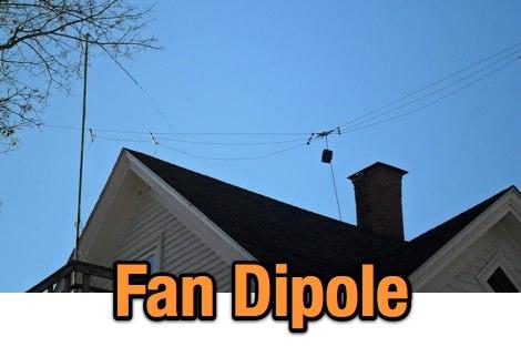 DXZone WA2HIP Fan Dipoles