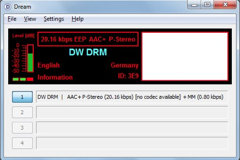 DXZone Dream DRM Receiver