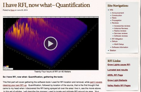 I have RFI, now what - Quantification