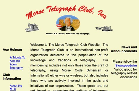 The Morse Telegraph Club
