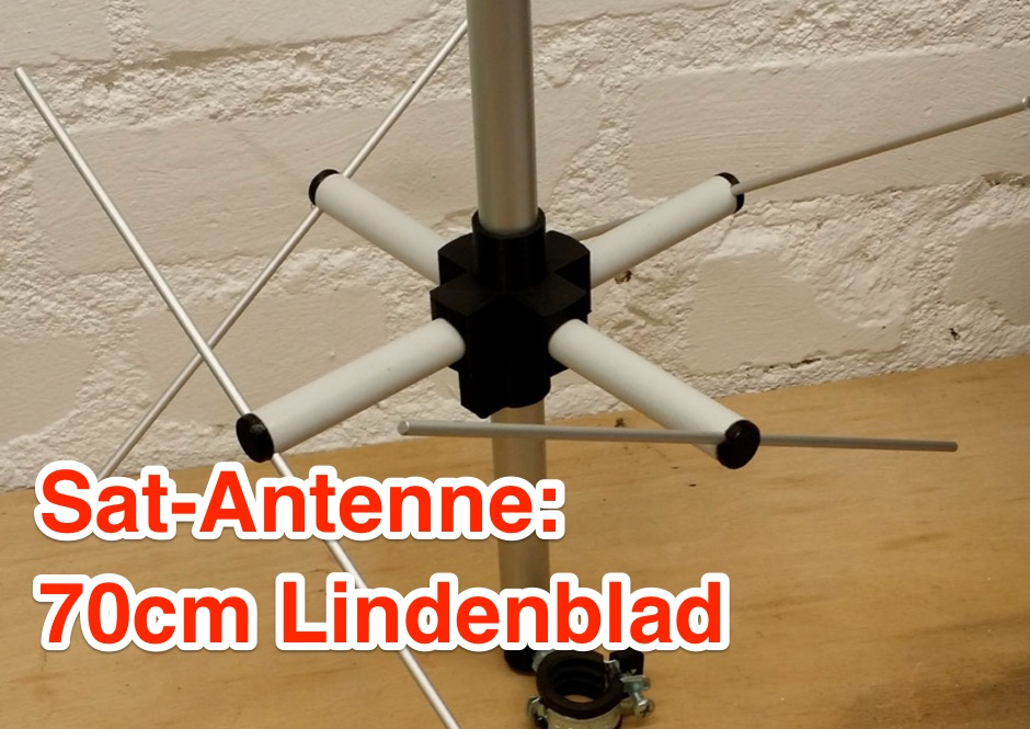 DXZone 70 cm Lindenblad Antenna