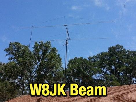 DXZone Modified W8JK Beam Antenna