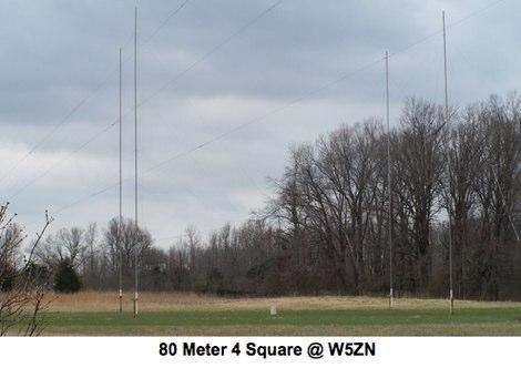 DXZone 80 Meters 4 Square