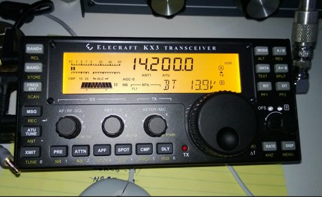 Elecraft KX3 and PowerSDR