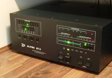 Alpha 87A Amplifier