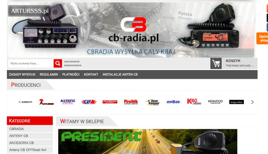 DXZone Shop CB Radio u ARTURSSS